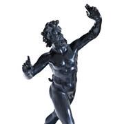 Tanzender Faun von Pompeji, Neapel, wohl Ende 19. Jahrhundert