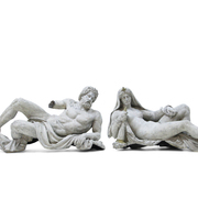 Zinkguss Figuren, Philipp Konrad Moritz Geiss, Berlin 1. Hälfte 19. Jahrhundert