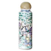 Porzellanfläschchen, China 19. Jahrhundert