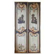 Rokoko Doppeltüre, deutsch 18. Jahrhundert
