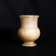 Salbgefäß, Kalzit Alabaster, Ägypten, Neues Reich, 18. Dynastie