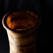 Zylindrisches Gefäß, Kalzit Alabaster, Ägypten, 1.-3. Dynastie