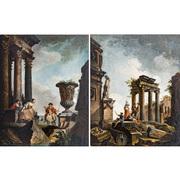 Pendant Gemälde, Italien dat. 1756
