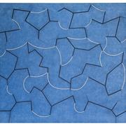 Peter Kampehl 'Blaue Bewegung', 2009