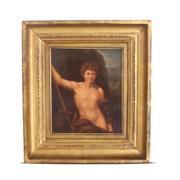 Gemälde Johannes, Nazarener, 1. Hälfte 19. Jahrhundert