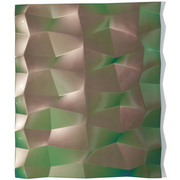 Willi Siber (1949) – Tafelobjekt (grün/violett), Deutschland 2019