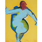 Josef Steiner (1899-1977), Abstrakter Frauenakt, um 1960/70