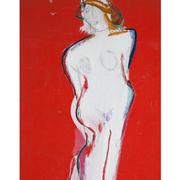 Josef Steiner (1899-1977), Die Weiße Dame, um 1960/70