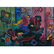 Gertrud Steiner-Schäfer, Expressionistische Komposition, um 1930/35