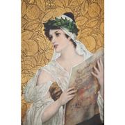 Conrad Kiesel (1846-1921), singende junge Frau, dat. 1885