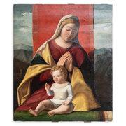 Renaissance Meister, Madonna mit Kind, wohl venezianisch 16. Jahrhundert