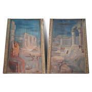 Gemälde im Ägyptischen Stil, 1. Hälfte 20. Jahrhundert