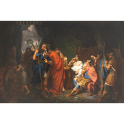 Alexander der Große und sein Arzt Philippus, Tischbein Umkreis, Ende 18. / Anfang 19. Jahrhundert