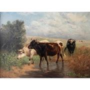 Henry Schouten (1857-1927), Drei Kühe