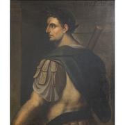 Portrait des Kaisers Tiberius, Nachfolger Bernardino Campi, wohl 17. Jahrhundert