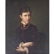 Damenportrait, Mitte 19. Jahrhundert