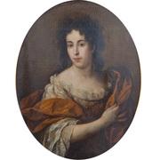 Damenportrait, 18. Jahrhundert