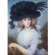 Lucius Rossi (1846-1913), Damenportrait, Italien 19. Jahrhundert