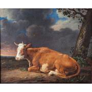 Worrell (zugeschr.), Liegende Kuh, England 19. Jahrhundert