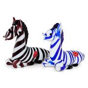 Murano Glas Zebras, Italien 20. Jahrhundert