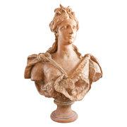 Damenbüste als Diana, Ende 19. Jahrhundert
