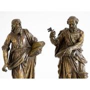 Bronzefiguren Petrus und Paulus, 18. Jahrhundert