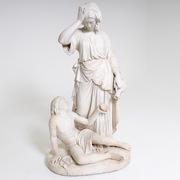 Heinrich Max Imhof (1795/98-1869), Hagar und Ishmael, 1849