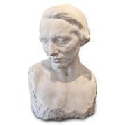 Marmorskulptur einer Frau, um 1900