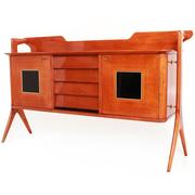 Sideboard im Stil von Ico Parisi, Italien Mitte 20. Jahrhundert