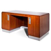 Art Deco Schreibtisch, 1940er Jahre