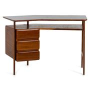 Schreibtisch, italienische Manufaktur, 1950er Jahre