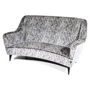 Sofa im Stil von Gio Ponti, Italien Mitte 20. Jahrhundert