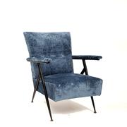 Mid-Century Sessel, wohl Italien