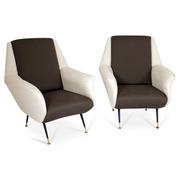 Lounge Sessel, Italien 1950er