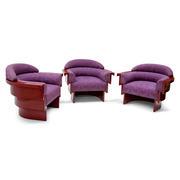 Studio A Lounge Sessel, Italien 20. Jahrhundert