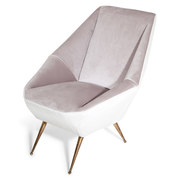 Lounge Sessel, Italien 1950er/60er Jahre