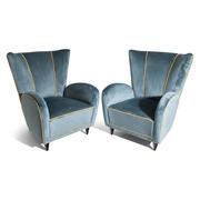 Sessel, attr. Paolo Buffa, Italien 1950er Jahre