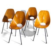 'Medea' Stühle von Vittorio Nobili, Italien 1960er
