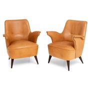 Lounge Sessel, attr. Giovanni 'Nino' Zoncada, Italien 1950er Jahre