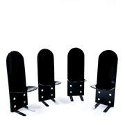 'Pelicano' Stühle von Luigi Saccardo für Arrmet, Italien 1970er