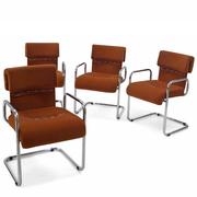 Stühle von Guido Faleschini für Mariani, Italien 1970er Jahre