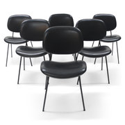 Sechs Stühle von Olivetti für BBPR, Italien 1960er Jahre
