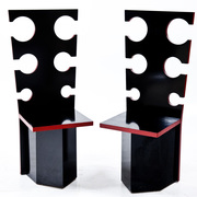 Designer Stühle von Max Papiri, Italien 1970er Jahre
