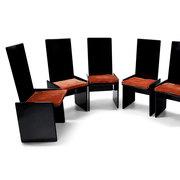 'Kazuki' Stühle von Kazuhide Takahama für Gavina, Italien 1968