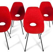 Stühle attr. Medea, Italien 1960er
