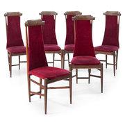 Stühle von Sergio Rodrigues für Isa Bergamo, 1950er