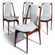 Stühle attr. Dassi, Italien 1950er