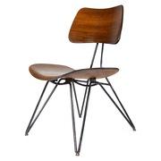 Stuhl von Gio Ponti für Rima, Italien Anfang 1950er Jahre
