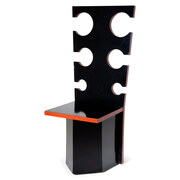 Max Papiri Skulpturaler Stuhl für Mario Sabot, Italien 1970er Jahre