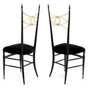 Esszimmer Stühle, Italien 20. Jahrhundert
